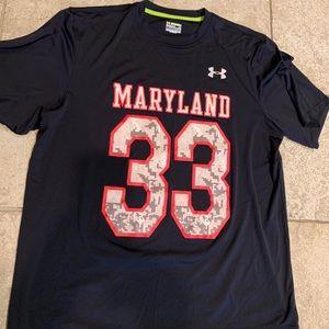 UA Maryland Integrity shirt Sz M